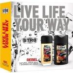 STR8 Rebel EdP 85 ml + sprchový gel 250 ml dárková sada