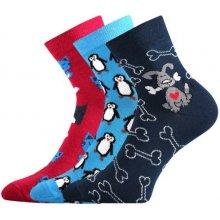 Boma ponožky Xantipa Mix 42- balení 3 páry v barevném mixu