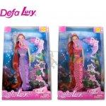 Panenka Lucy mořská panna svíticí 29 cm