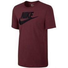 Nike M NSW TEE ICON FUTURA 696707-679 červená