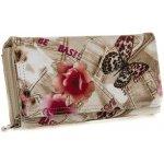 Jennifer Jones Dámská peněženka s potiskem 1108-3 béžová bb9f95b88a
