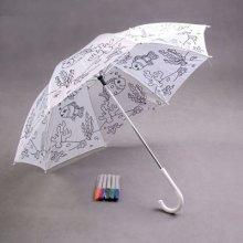 Deštník pro děti Omalovánka