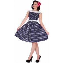 c075750803c Dolly and Dotty dámské retro šaty Sassy S751SL tmavě modrá