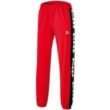 fb4fd0968df Erima 5-CUBES polyesterové tepláky pánské červená
