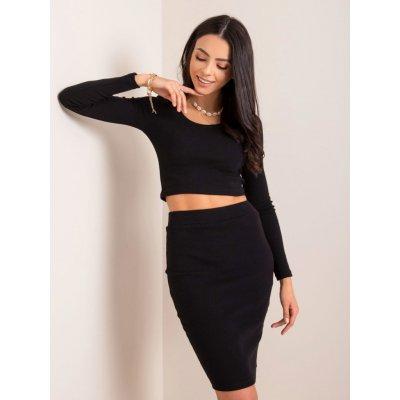 Dámská sukně úpletová rv-sd-4271.29p black