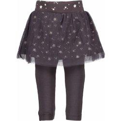 Blue Seven Dívčí sukně s legínami - šedá 6818284757