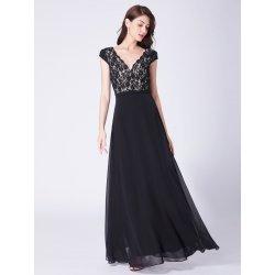 96ab0b9adf8 Ever Pretty dlouhé společenské plesové šaty s krajkou černá