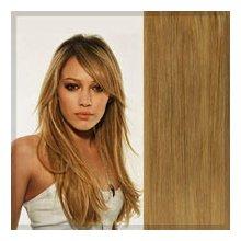 Clip in vlasy 38 cm - medová blond #27