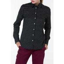 Gant dámská Košile GANT STRETCH BROADCLOTH DOT PRINT černá 7cd0fb9ceb
