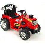 ChuChu Elektrický traktor s mohutnými koly, dva motory, červený
