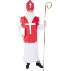 karnevalový kostým mikuláš - Nejlepší Ceny.cz 7f857f8af88