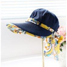 fbc37579621 Letní klobouk Miranda se stuhou modrý