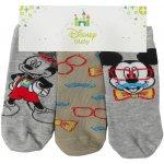 1ced1968384 DISNEY Ponožky pro miminka Mickey mouse 3 ks v balení