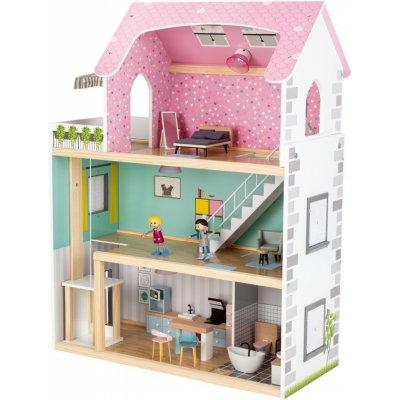PLAYTIVE Dřevěný domeček pro panenky XXL 346914