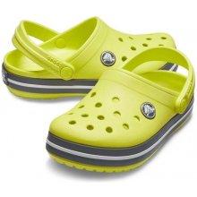 8e40da53d Crocs Crocband Clog K - Citrus/Slate Grey