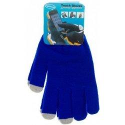 b6313412e4f Dotykové rukavice pro smartphony dámské modrá