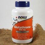 Now Glutathione redukovaný 500 mg 60 kapslí