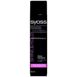 Přípravky pro úpravu vlasů Syoss Shine Hairspray 24h Lak pro extra silnou fixaci vlasů s leskem 300 ml