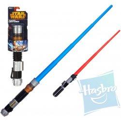 Hasbro Star Wars Vysouvací světelný meč Červený