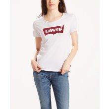 Levis dámské triko s logem 17369-0053 Bílá bbe2469291