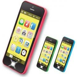 Hračka pro nejmenší Smart phone 40 melodií v boxu Chytrý telefon Zvuk PLAST