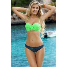 Ewlon 93354 Dvoudílné plavky zelená