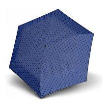 Doppler Dámský mechanický deštník Hit Micro Dots modrý s puntíky 710565PD03