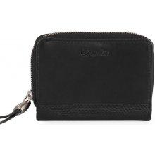 Esquire Dámská kožená peněženka 096357 černá