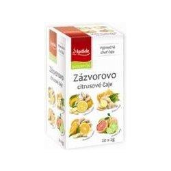 Apotheke Zázvorovo citrusové čaje 4v1 20 x 2 g