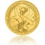 Česká mincovna Zlatá investiční mince 40dukát sv. Jana Nepomuckého stand 139,5 g