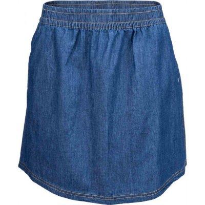 Willard LELA dámská plátěná sukně džínového vzhledu modrá