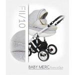 Baby Merc Faster 2 Style 2017 FII/10 + autosedačka Světle-šedá