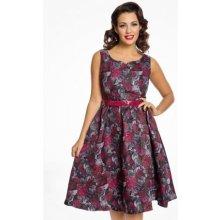 Lindy Bop dámské šaty Nova Rose 60356 barevná d1dedc76e89