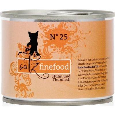 Petnature Catz Finefood No.25 s kuřecím masem & tuňákem 200 g