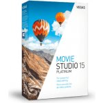 Vegas MOVIE STUDIO 15 PLATINUM, BOX (MSP15-BOX)