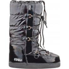 Coqui Sněhule Snowboot lesklé černé