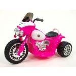 ChuChu Chopper Harleyek na masivních kolech pro začínající harleykáře 6V růžový