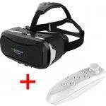 SES SHINECON II VR box 3D + Bluetooth dálkový ovladač