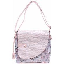 Rieker kabelka H1107-31 růžová 1
