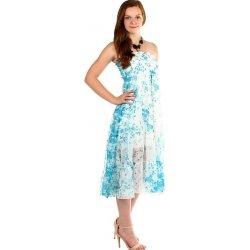 4b745896c76 Dámské šaty TopMode dámské letní volné šaty s potiskem modrá