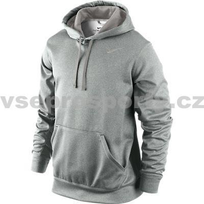 Nike KO Hoody II Mikina šedá od 990 Kč - Heureka.cz 4e87dd95aa7