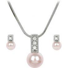 f671087d2c5 Sada Troli náhrdelníku a náušnic Pearl Caorle Rosaline ECAOR06RH Rosaline +  CCAOR08RH Rosaline
