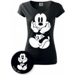 Adler Tričko Mickey Mouse 261 černé dámská trička - Nejlepší Ceny.cz 192260cd56