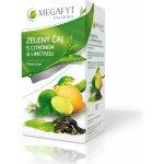Megafyt Zelený čaj s citrónem a limetkou 20 x 1,5 g