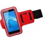 Pouzdro Mobilnet Huawei Nova sportovní na ruku \červené
