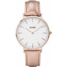 Cluse La Bohéme Rose Gold White/Rose Gold METALLIC