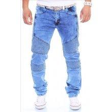 KC-1981 kalhoty pánské 3111 jeans prošívané