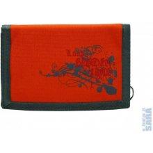 LOAP peněženka BA 7393 BORDER oranžová s potiskem