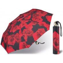 c00d819b5d4 Happy Rain Petito Red Rose dámský skládací mini deštník červený