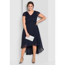 1f6df284791 sheego Style večerní šaty námořická modrá